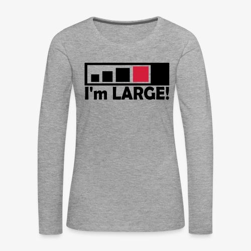 large_geocacher - Frauen Premium Langarmshirt