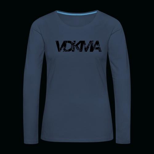 vdkma x 130 x spörts - Naisten premium pitkähihainen t-paita