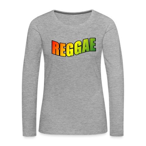 Reggae - Women's Premium Longsleeve Shirt