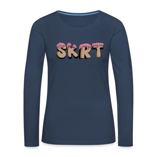 SKRT - Maglietta Premium a manica lunga da donna