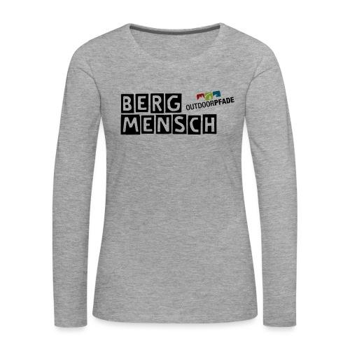 BergMensch#01 - Frauen Premium Langarmshirt