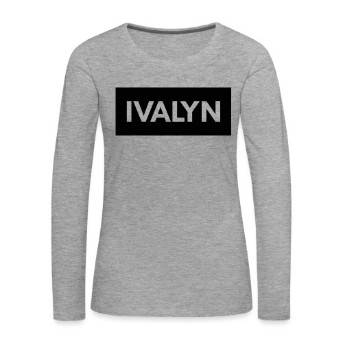 IVALYN1 png - Women's Premium Longsleeve Shirt
