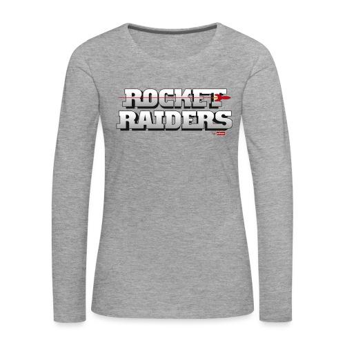 patame Rocket Raiders Logo - Frauen Premium Langarmshirt