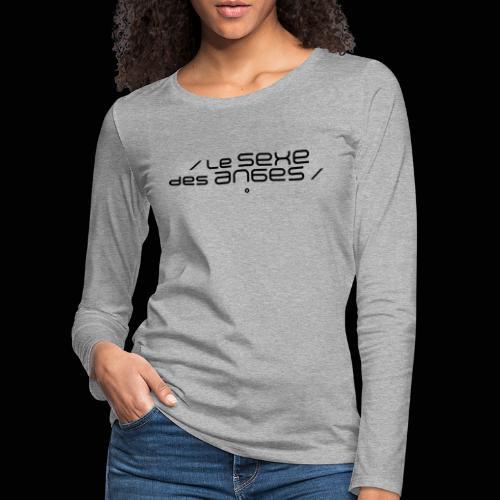 Le sexe des anges - T-shirt manches longues Premium Femme
