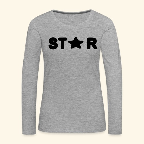 Star of Stars - Women's Premium Longsleeve Shirt