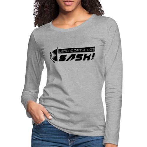 DJ SASH! Turntable 2020 Logo - Women's Premium Longsleeve Shirt