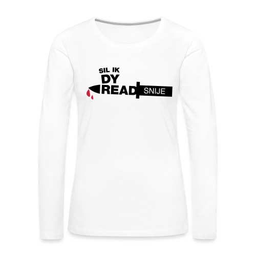 Read snije - Vrouwen Premium shirt met lange mouwen