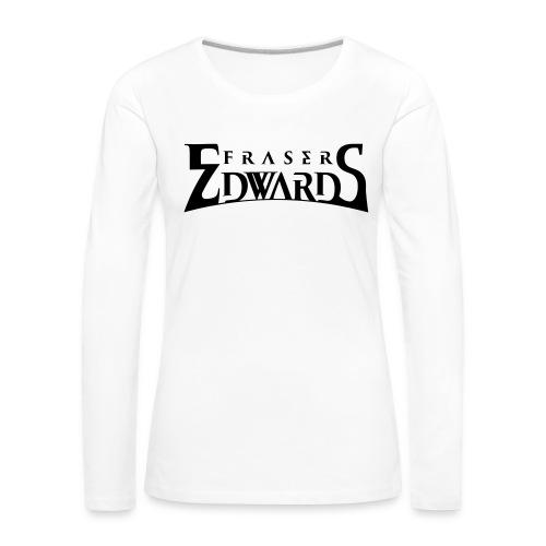 Fraser Edwards Men's Slim Fit T shirt - Women's Premium Longsleeve Shirt