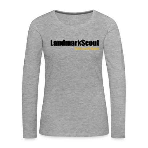 Tshirt White Back logo 2013 png - Women's Premium Longsleeve Shirt