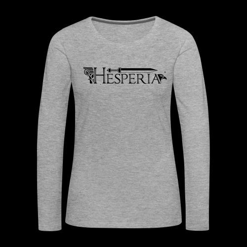 HESPERIA logo 2016 - Women's Premium Longsleeve Shirt