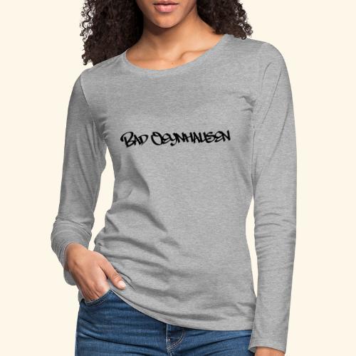Hipster Oeynhausen - Frauen Premium Langarmshirt
