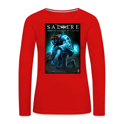 Saltire Invasion1 - Women's Premium Longsleeve Shirt