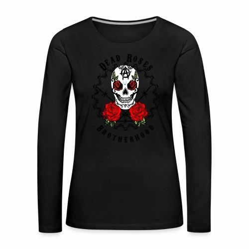 Dead Roses 2nd Logo - Women's Premium Longsleeve Shirt