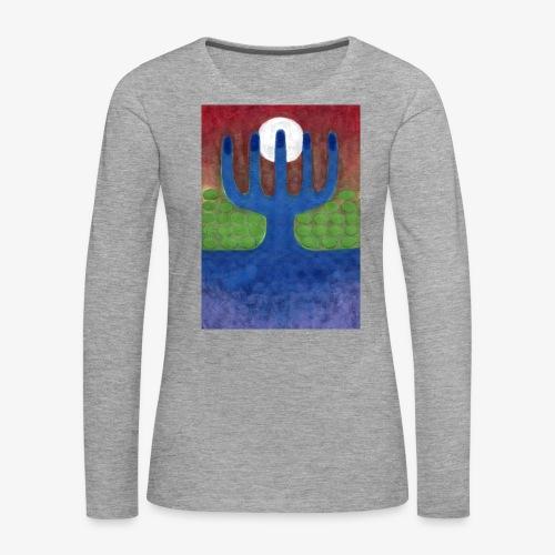 Oaza - Koszulka damska Premium z długim rękawem