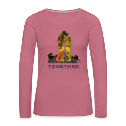 Together - T-shirt manches longues Premium Femme