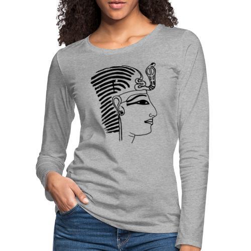 Pharao SethosI Ägypten - Frauen Premium Langarmshirt