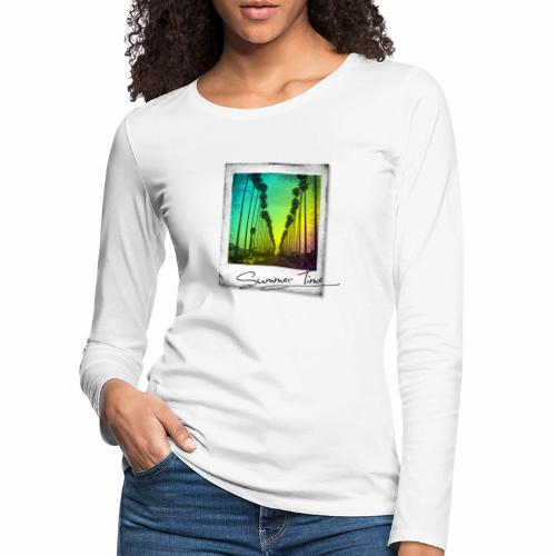 Summer Time - Women's Premium Longsleeve Shirt