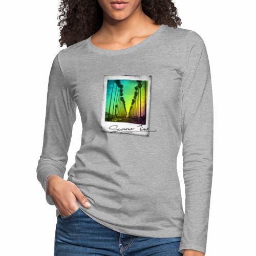Summer Time - Women's Premium Longsleeve Shirt