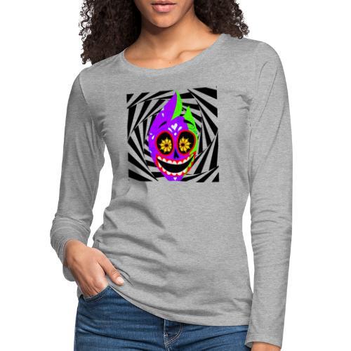 Halloween - Frauen Premium Langarmshirt