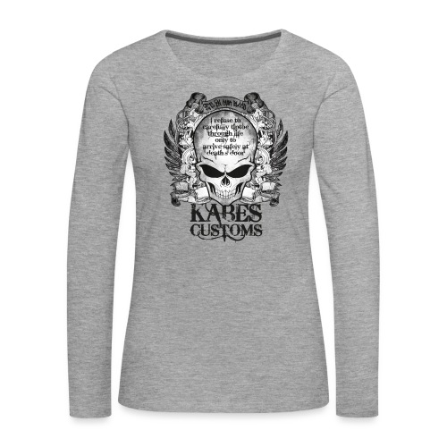 Kabes Tiptoe T-Shirt - Women's Premium Longsleeve Shirt