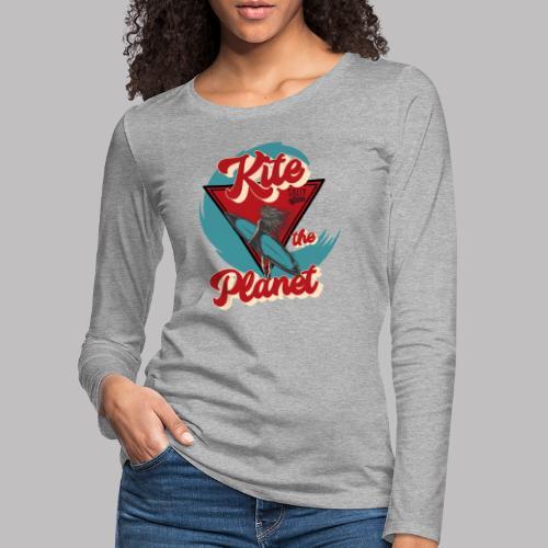 ktp salty sisters surf - Frauen Premium Langarmshirt