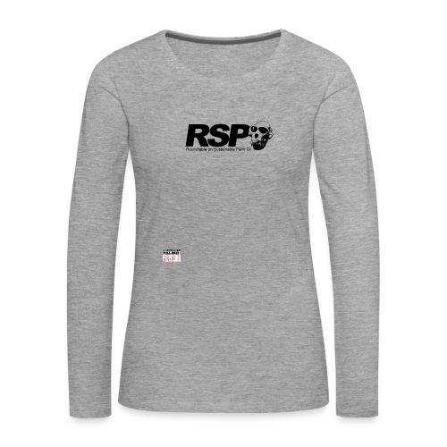 rspo skull - T-shirt manches longues Premium Femme