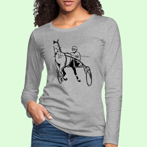 Le Trotteur - T-shirt manches longues Premium Femme