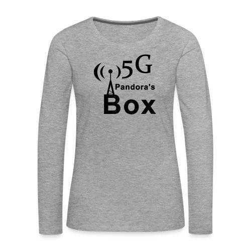 5G Pandora's box - Frauen Premium Langarmshirt