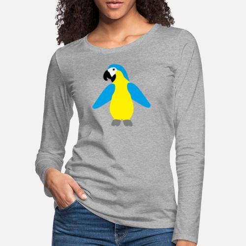 Gelbbrustara - Women's Premium Longsleeve Shirt