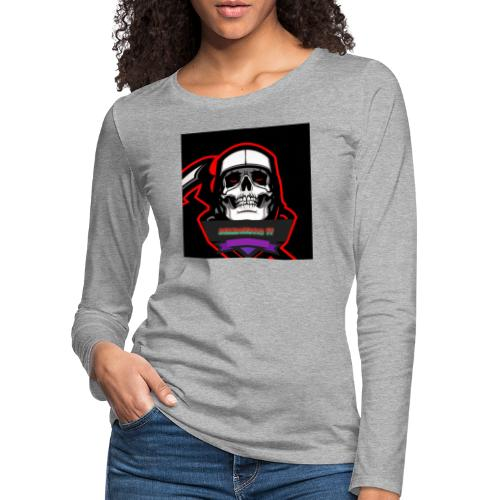 DerMagier432YT Shop - Frauen Premium Langarmshirt