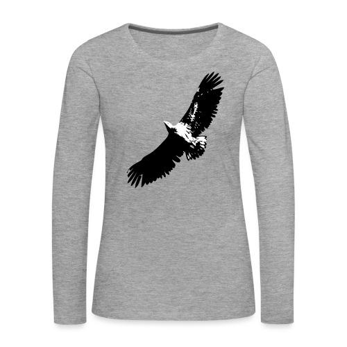 Fly like an eagle - Frauen Premium Langarmshirt