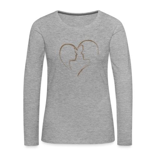 loving - Frauen Premium Langarmshirt