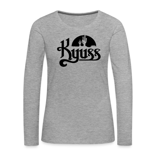 Band Culture - Naisten premium pitkähihainen t-paita