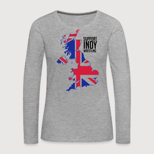 Indy Britain - Women's Premium Longsleeve Shirt