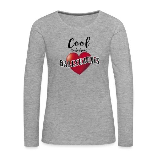 Ballyhaunis tshirt Recovered - Women's Premium Longsleeve Shirt