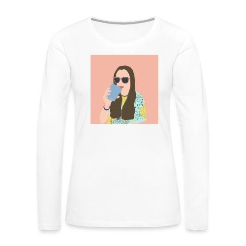 Gaia - Maglietta Premium a manica lunga da donna
