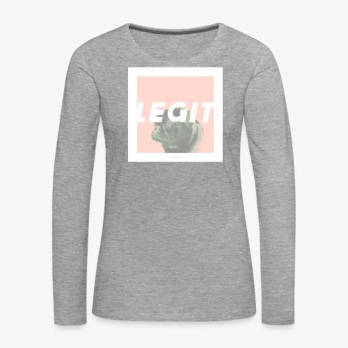 LEGIT #03 - Frauen Premium Langarmshirt