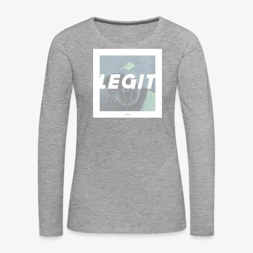 LEGIT #04 - Frauen Premium Langarmshirt