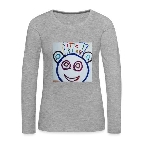 de panda beer - Vrouwen Premium shirt met lange mouwen