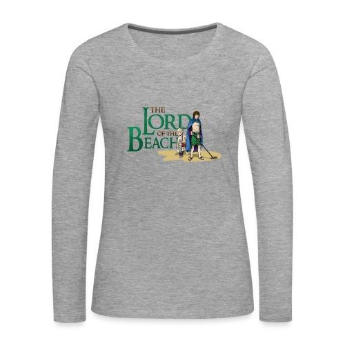 The Lord of the Beach - Camiseta de manga larga premium mujer
