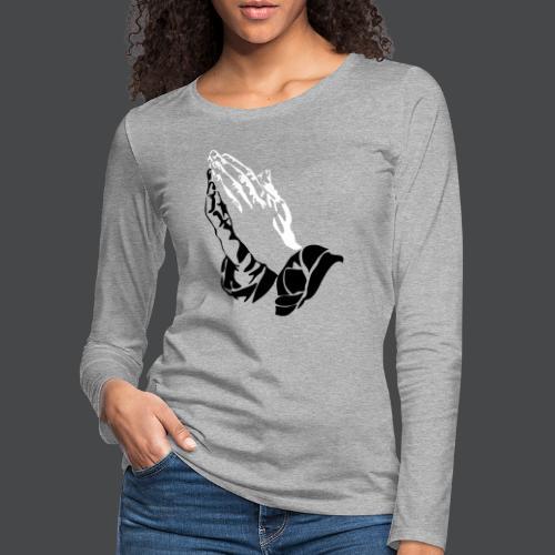 haende - Frauen Premium Langarmshirt