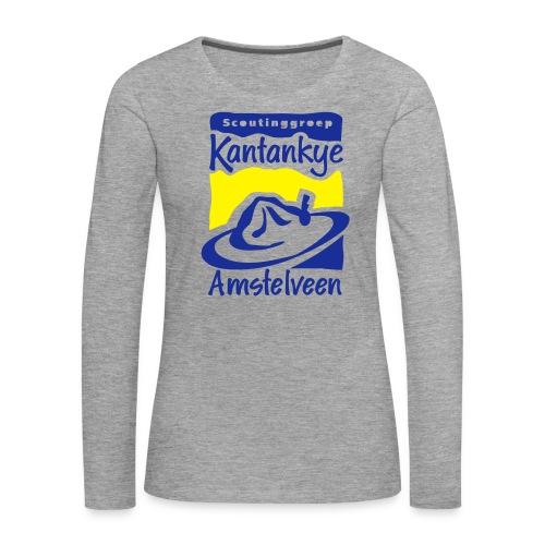 logo simpel 2 - Vrouwen Premium shirt met lange mouwen