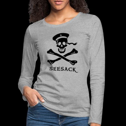 ~ Seesack ~ - Frauen Premium Langarmshirt