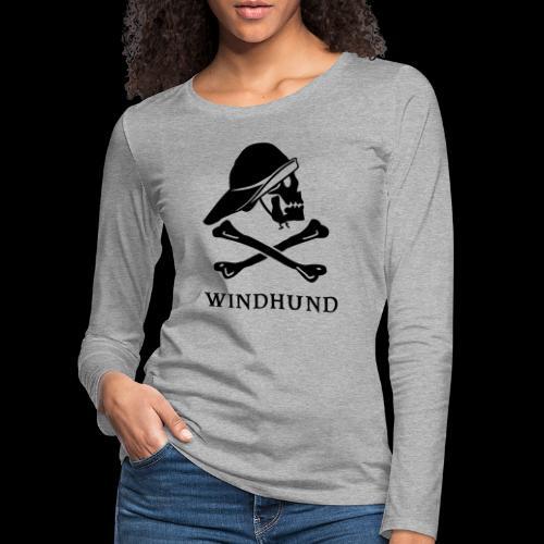 ~ Windhund ~ - Frauen Premium Langarmshirt