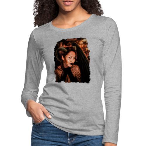 What is it you truly desire...? - Vrouwen Premium shirt met lange mouwen