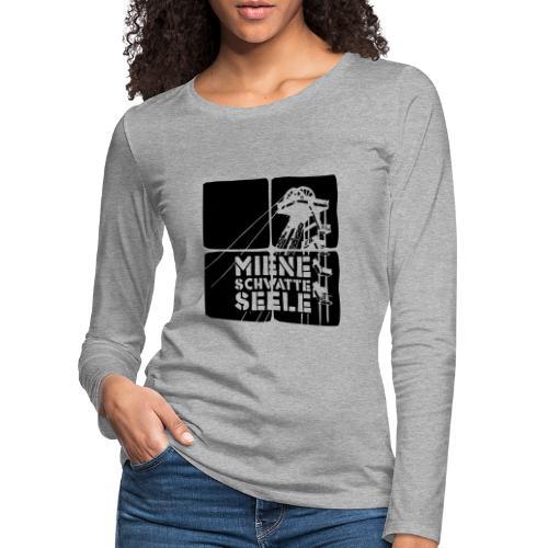 schwatte seele 01 - Frauen Premium Langarmshirt