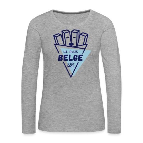 La+Belge - T-shirt manches longues Premium Femme
