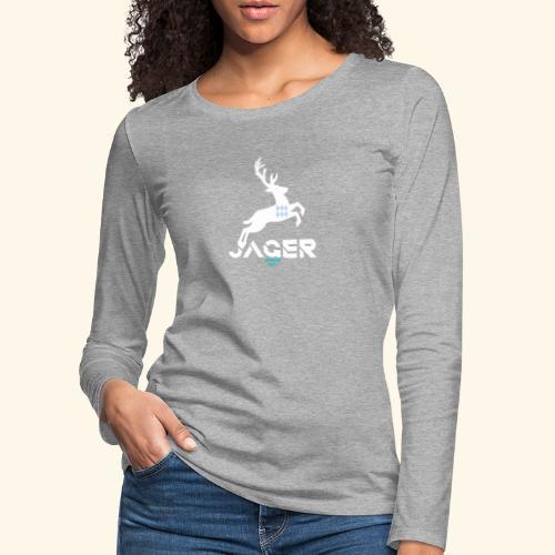 Jager Bayern - Frauen Premium Langarmshirt