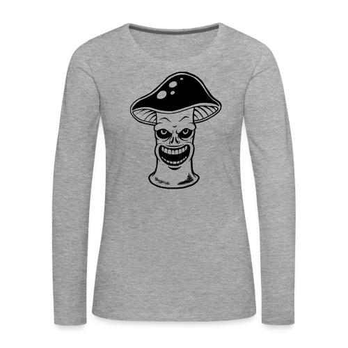 Happy Pilz - Frauen Premium Langarmshirt