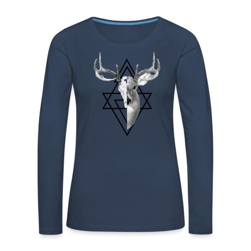 My Deer - Naisten premium pitkähihainen t-paita